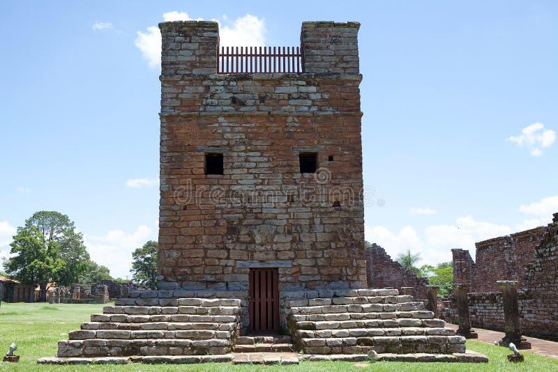 Missions de j?suite de La Santisima Trinidad de Paran?, Paraguay photos stock