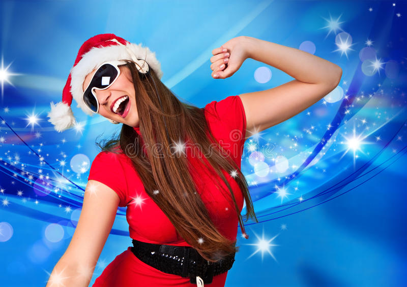 Missis santa 07 stock images