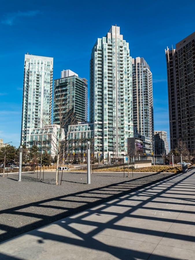 Mississauga Modern Condominiums stock photo