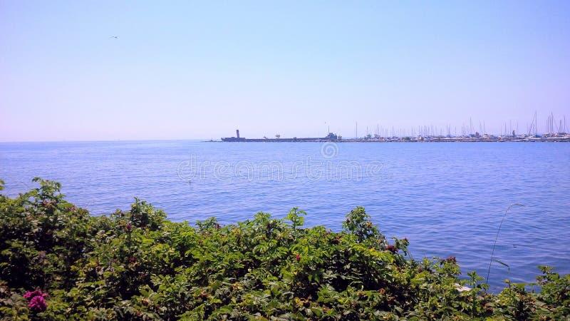 Mississaugawaterkant stock afbeelding