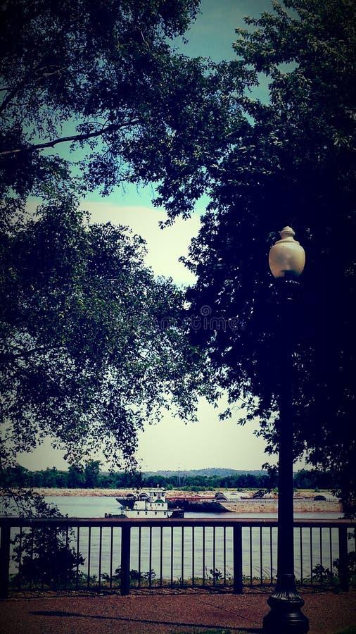 Mississippi el hermoso fotografía de archivo