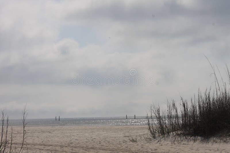 Mississippi-Golf-Küsten-Strand lizenzfreie stockbilder