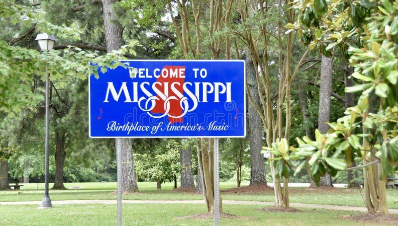 Mississippi, lugar de nacimiento de la música de América imágenes de archivo libres de regalías