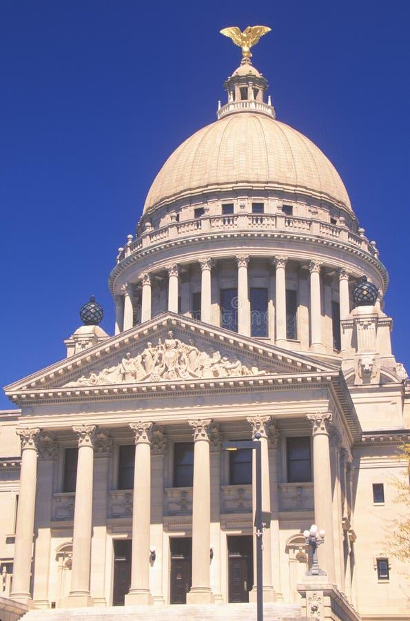 Mississippi stan Capitol obraz stock