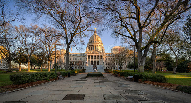 Mississippi stanu Capitol obraz royalty free