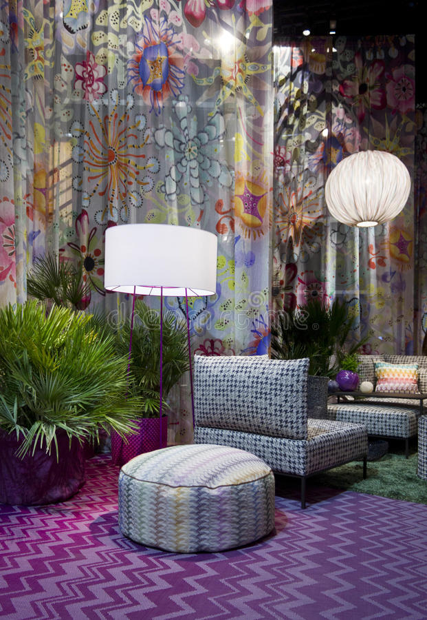 Download Missoni Furniture Set Editorial Photography. Image Of Pink    78949797
