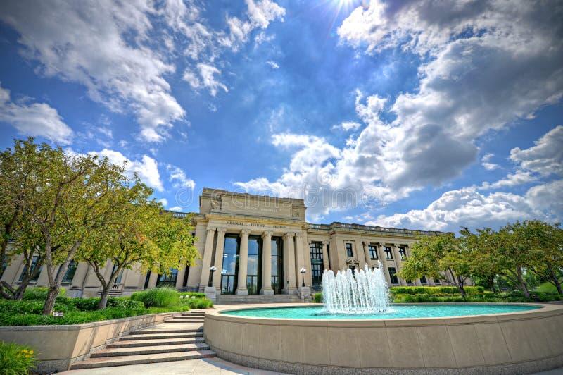 Missouri History Museum. The Missouri History Museum in Forest Park, St. Louis, Missouri stock photo