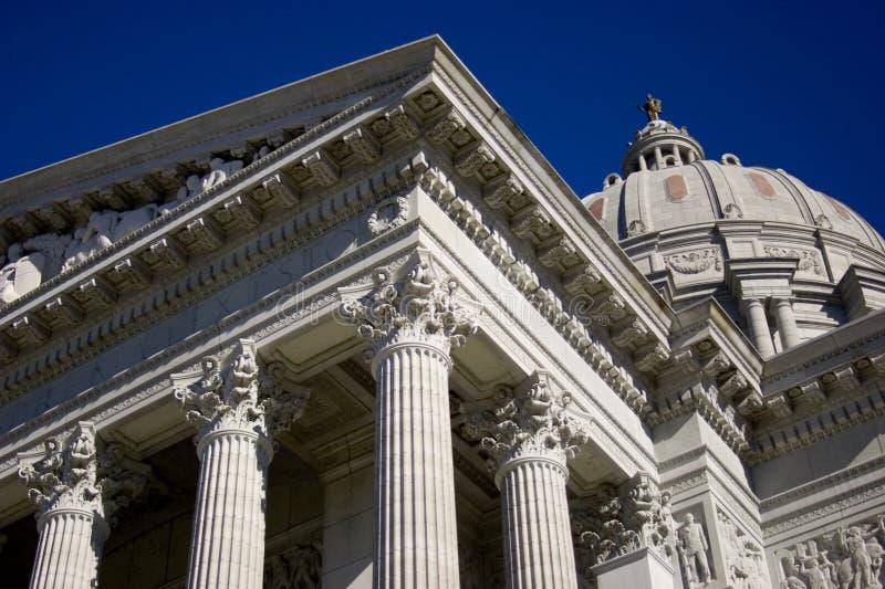 Missouri-Kapital lizenzfreies stockbild