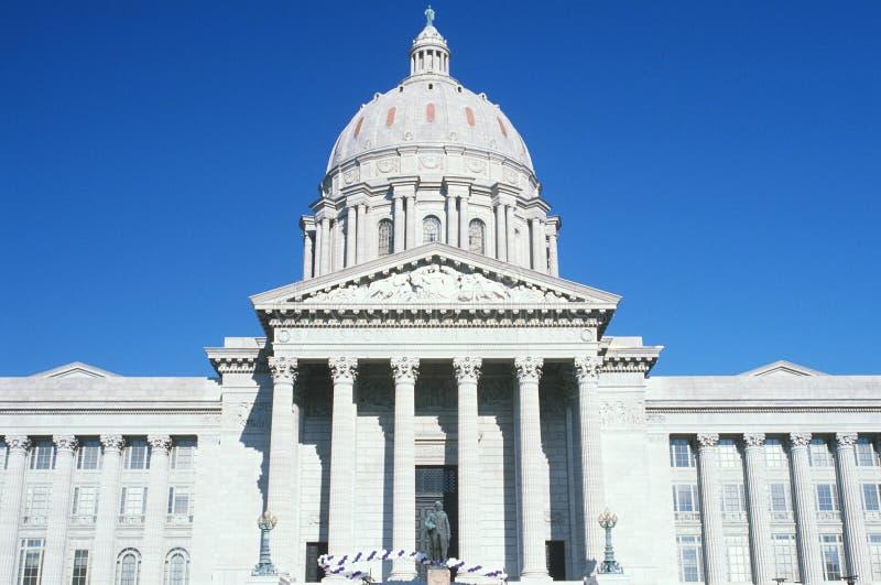 Missouri stan Capitol fotografia royalty free