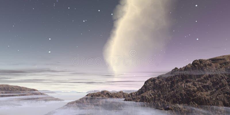 Mist in de hemel royalty-vrije stock afbeeldingen