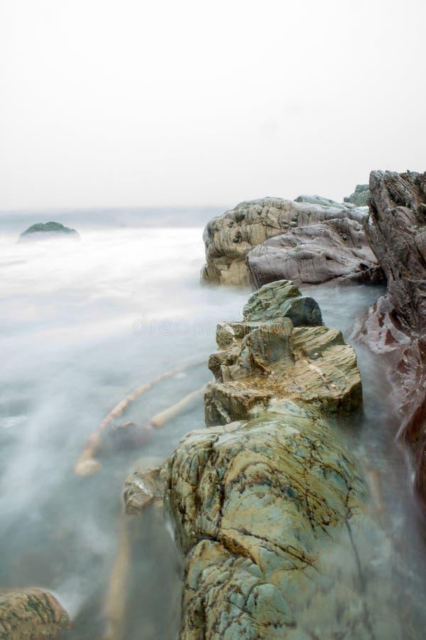 Mist in het Water royalty-vrije stock afbeelding