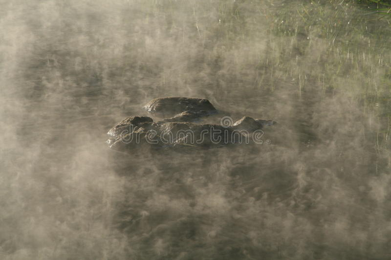 Download Mist on the water stock image. Image of haze, water, stone - 21111985