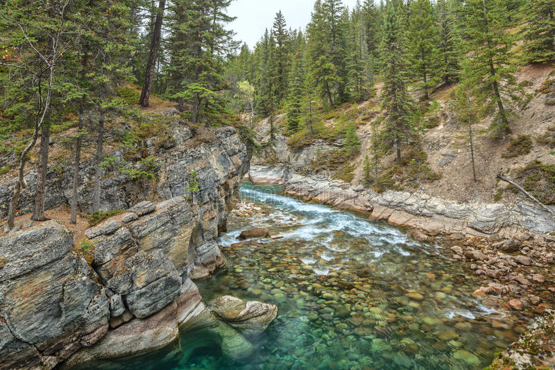 Mistaya Canyon stock photos