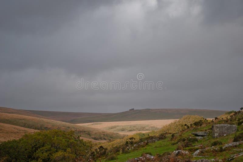Misterio de Dartmoor imágenes de archivo libres de regalías