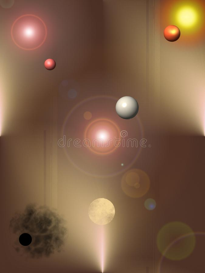 Misterio del ` del ` del universo - Wallpaper para el móvil imagen de archivo