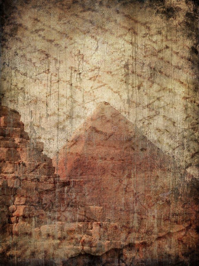 Mistero della piramide illustrazione di stock
