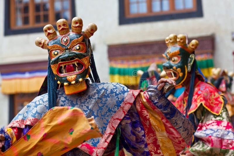 Mistero di Cham, Ladakh fotografie stock