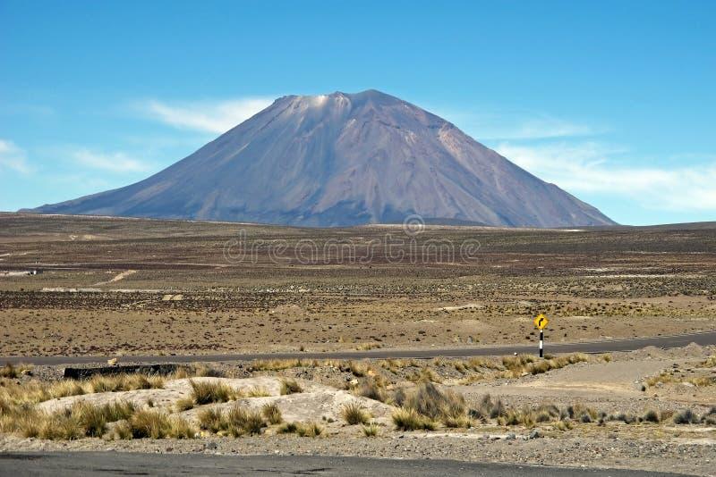 misti Перу el стоковое фото