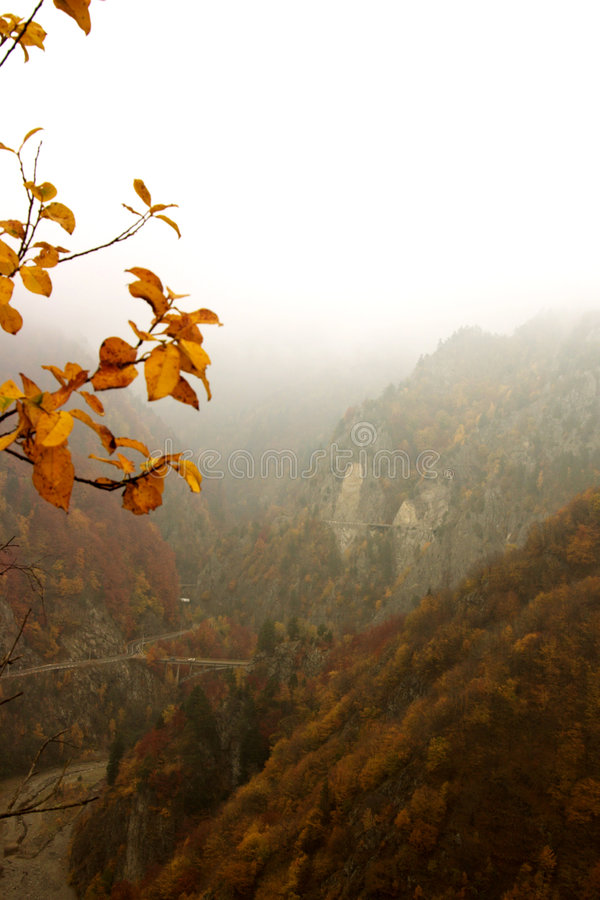 mistic berg royaltyfria foton
