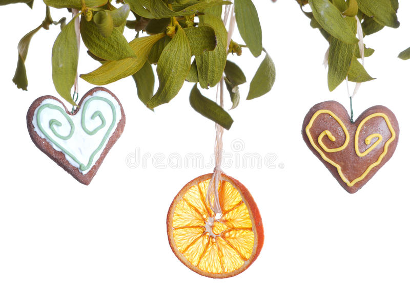 Download Mistletoe stock image. Image of bunch, holiday, ornament - 22709575