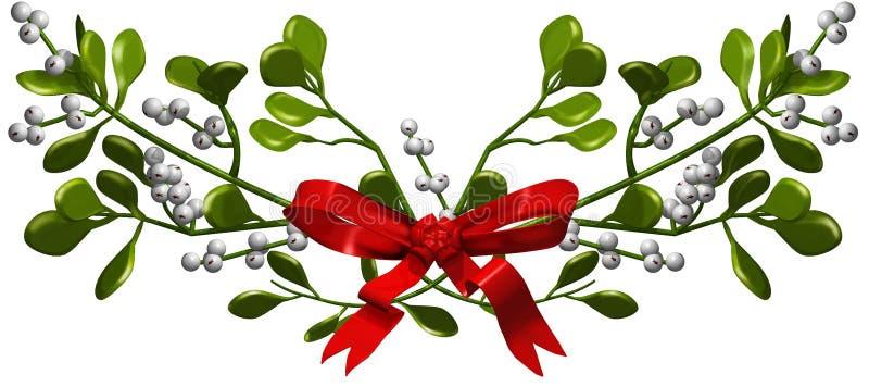 Mistletoe Arkivfoton