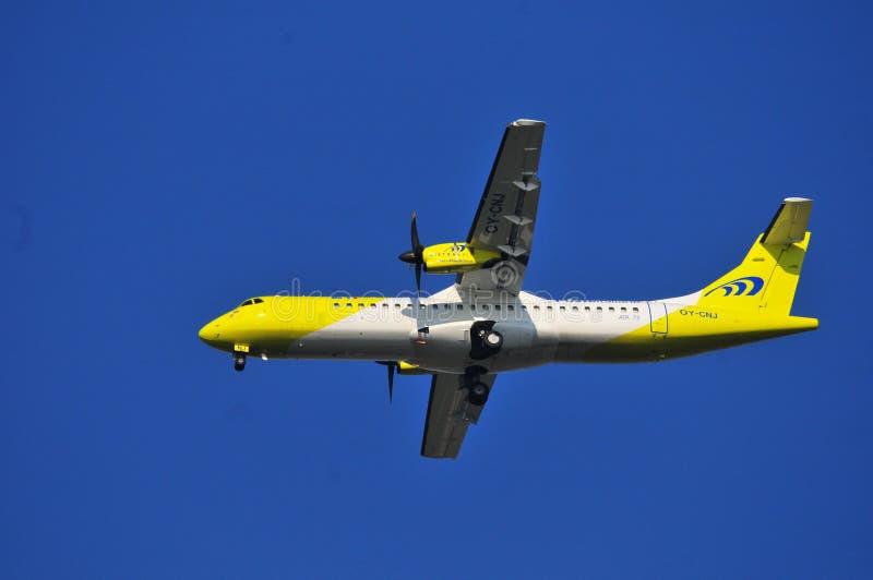 Mistralflygbolagnivå royaltyfri bild