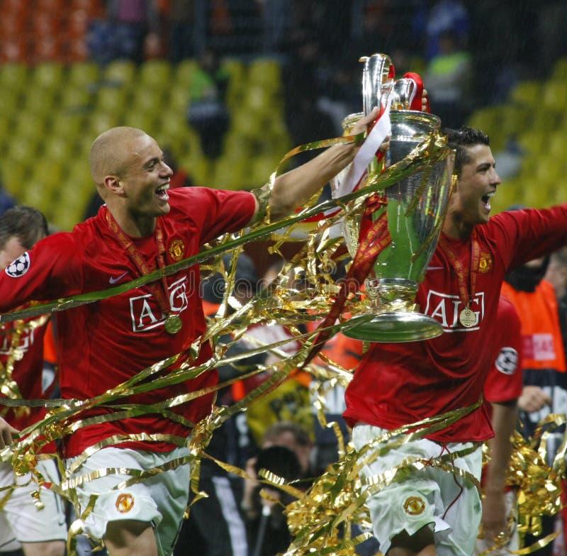 mistrz ostatecznego ligowego luzhniki Moscow stadionie zdjęcie stock