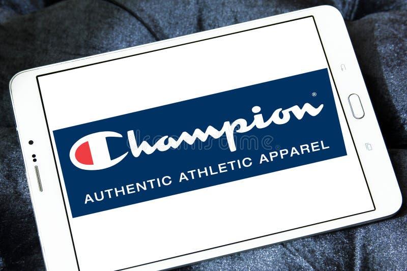 Mistrza sportswear firmy logo zdjęcia stock