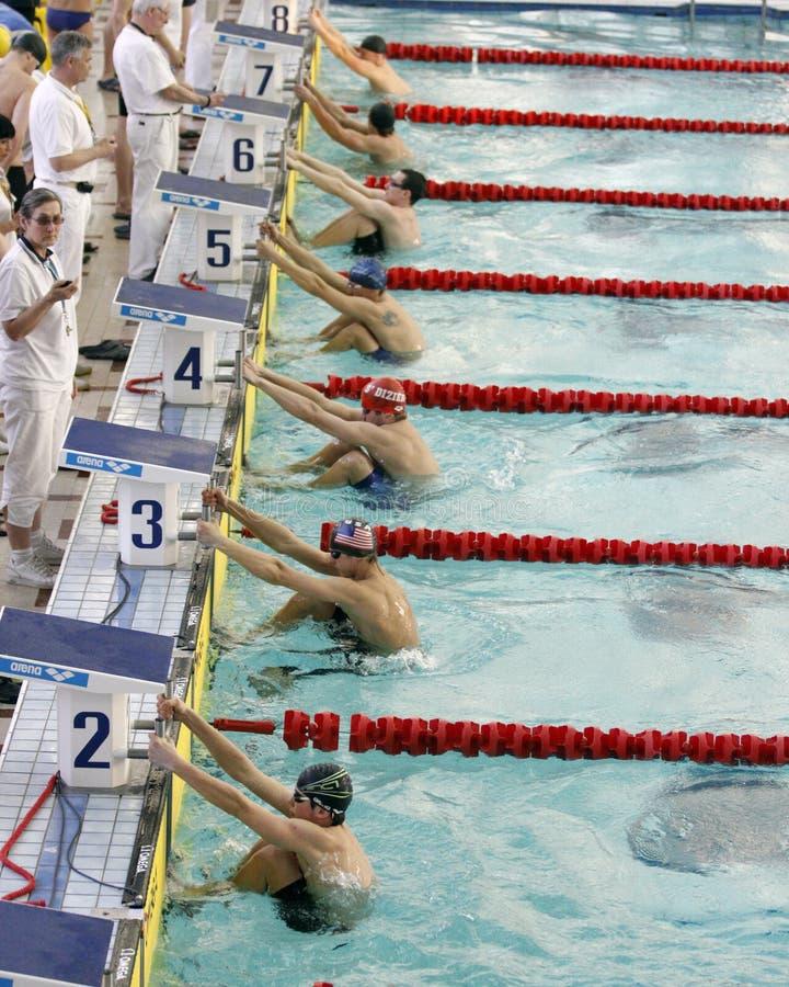 mistrzostwo zima pływacka ukraińska fotografia royalty free
