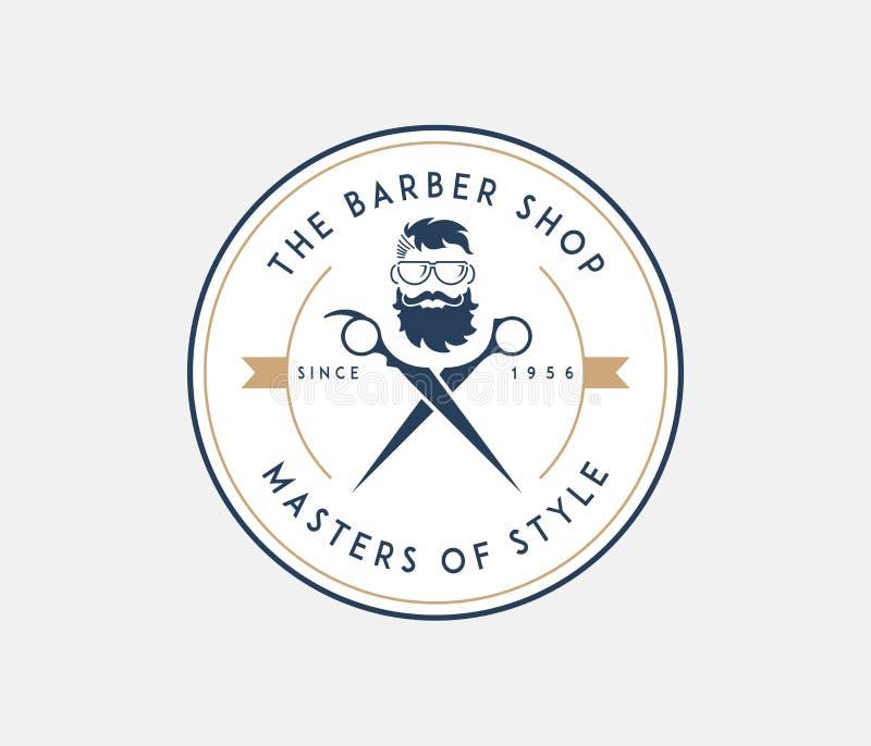 Mistrzowie broda ilustracja wektor