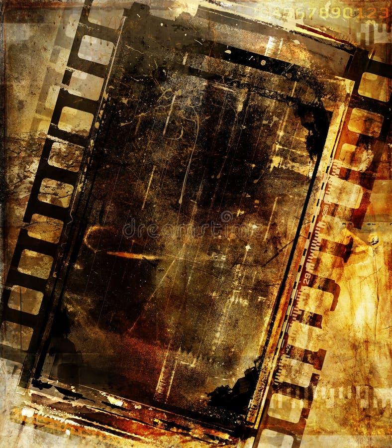 Mistura da película ilustração royalty free