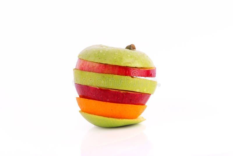 Mistura de Apple fotografia de stock