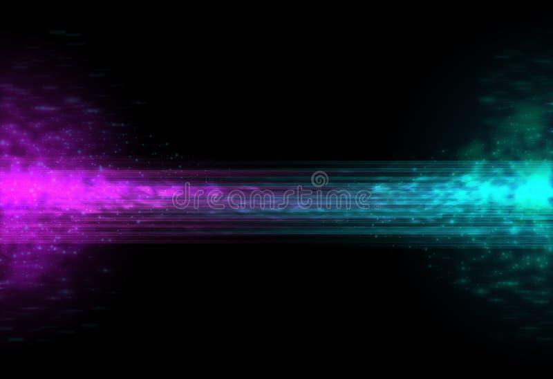 Mistura de duas cores abstrata imagem de stock royalty free