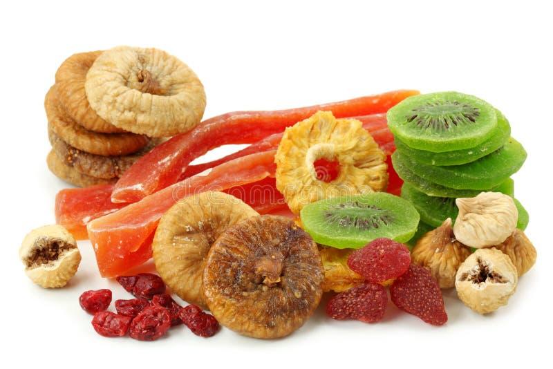 Mistura de frutas secadas fotografia de stock