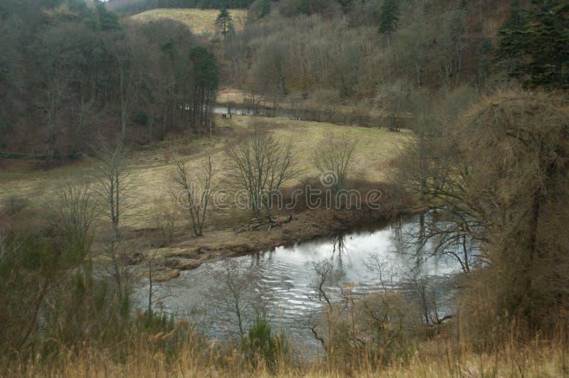 Mistura de lã do rio imagens de stock royalty free