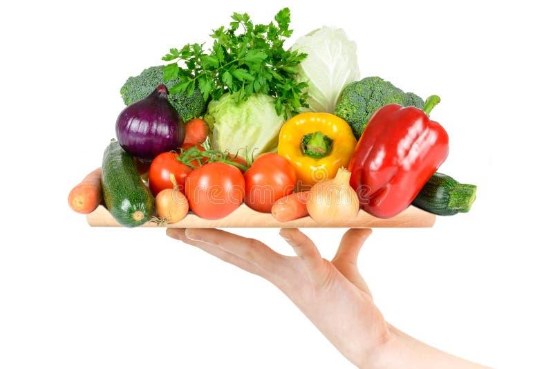 Mistura de legumes frescos foto de stock