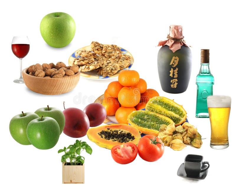 Mistura do alimento imagens de stock royalty free