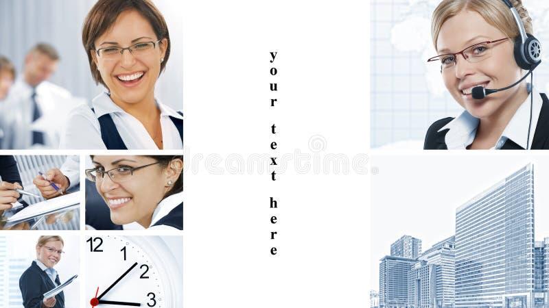Mistura do negócio imagem de stock royalty free