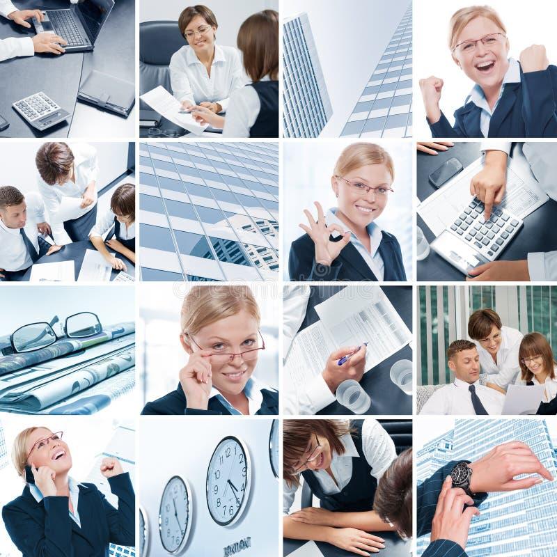 Mistura do negócio foto de stock