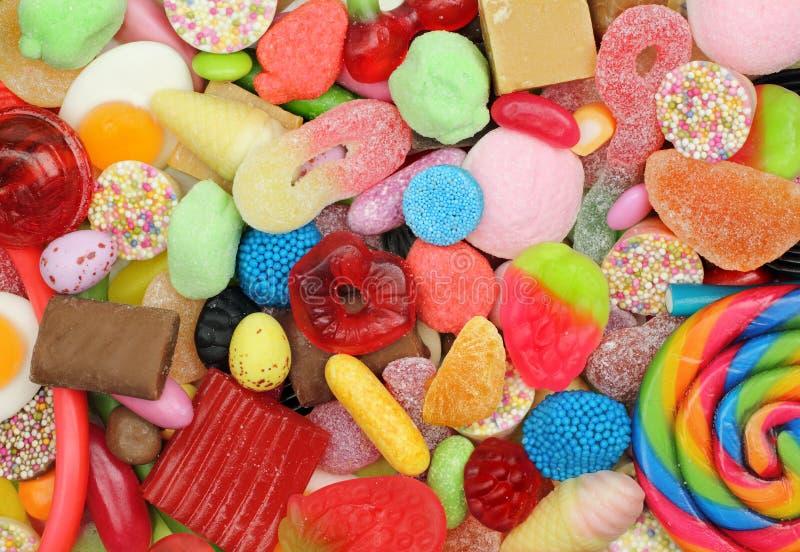 Mistura dos doces foto de stock royalty free