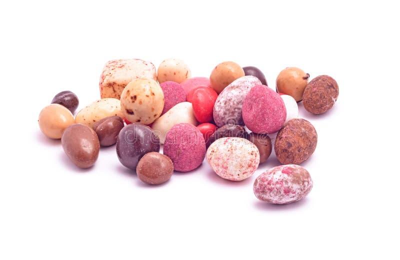 Mistura feito a mão dos doces foto de stock