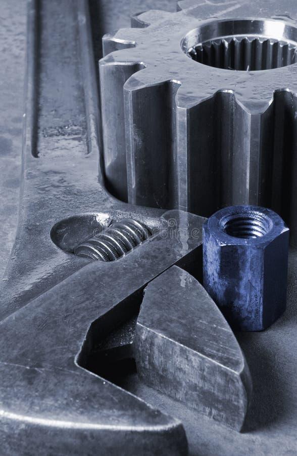 Mistura variada mecânica imagem de stock