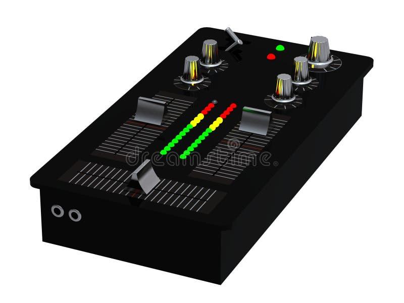 Misturador audio ilustração do vetor
