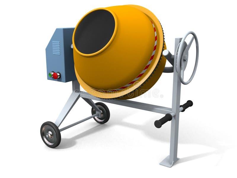 Misturador concreto ilustração do vetor