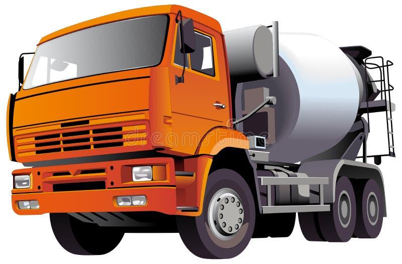 Misturador concreto ilustração stock