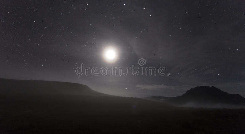 misty νύχτα στοκ εικόνες με δικαίωμα ελεύθερης χρήσης