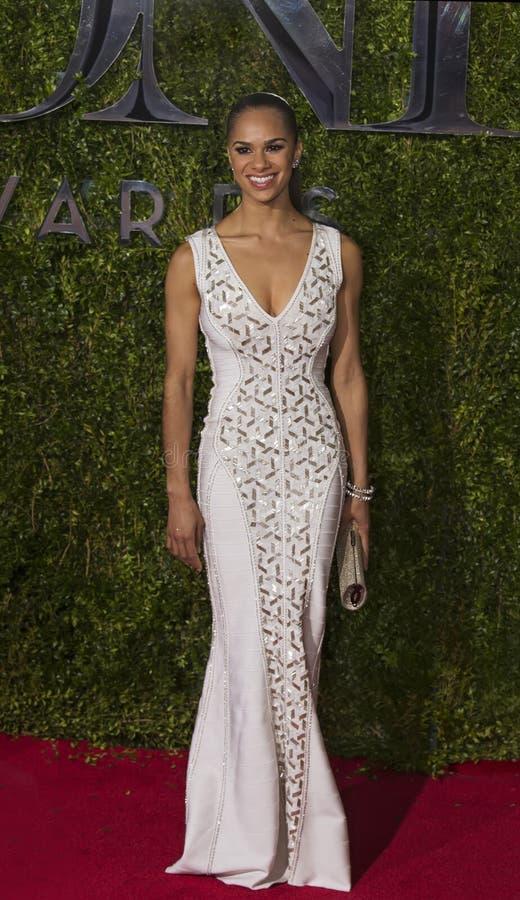 Misty Copeland Attends Tony Awards 2015 fotografia de stock royalty free