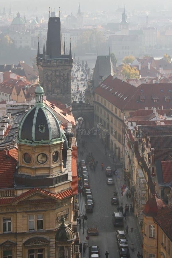 Misty day in Prague
