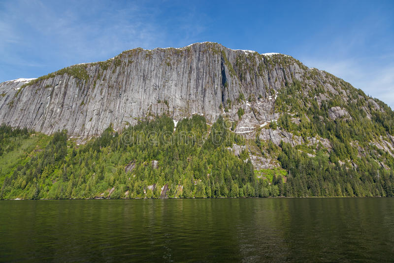 Misty Fjords fotografia de stock