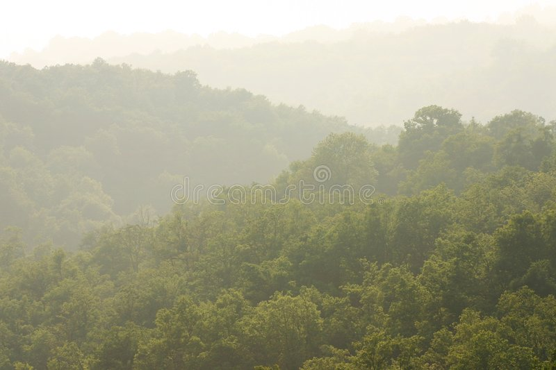 Download Misty green hills stock photo. Image of atmosphere, nature - 2586434